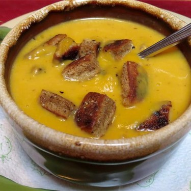 Chipotle Infused Squash Soup Recipe | SideChef