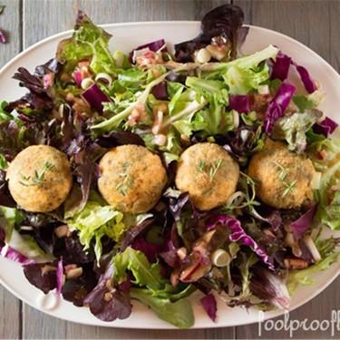 Baked Goat Cheese Salad Recipe   SideChef