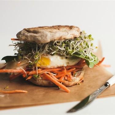 The 1-Minute Breakfast Sandwich Recipe   SideChef