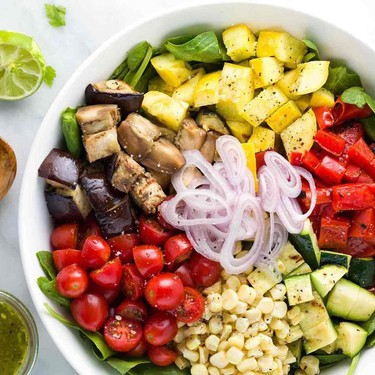 Grilled Vegetable Salad with Citrus Dressing Recipe | SideChef