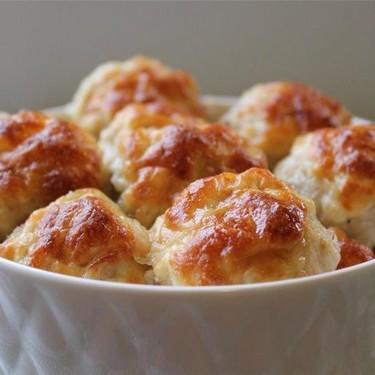 Cheesy Chicken Meatballs Recipe   SideChef