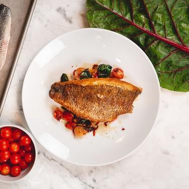 Fish Fillet with Swiss Chard & Garlic Recipe   SideChef