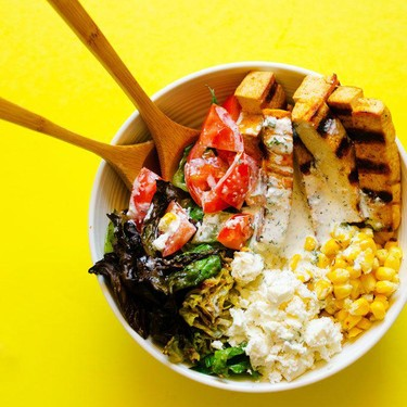 Grilled Romaine Salad Recipe | SideChef