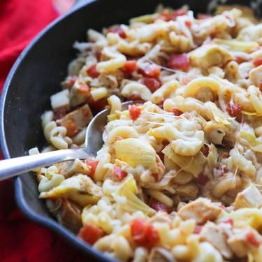 Chicken Artichoke Pasta Skillet Recipe   SideChef