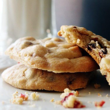 Cranberry Almond Cookies Recipe | SideChef