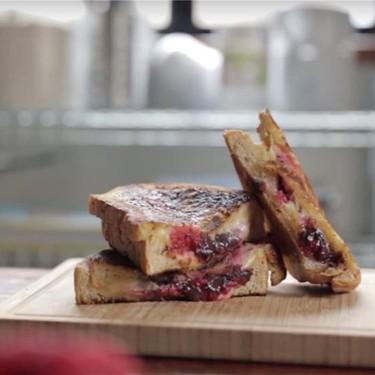 Raspberry & Dark Chocolate Grilled Cheese Recipe   SideChef