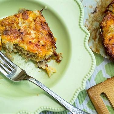Cauliflower-Cheese Pie with Grated Potato Crust Recipe   SideChef