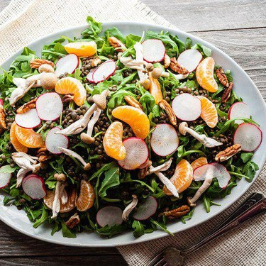 Lentil Salad with Lemon Berbere Dressing Recipe | SideChef