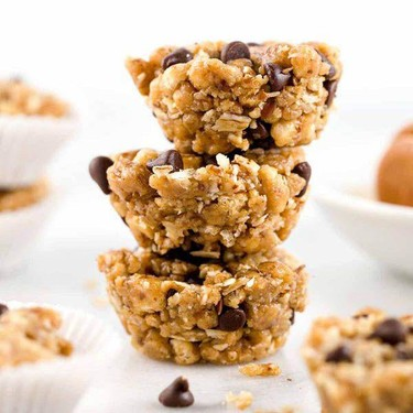 Peanut Butter Chocolate Chip Granola Cups Recipe | SideChef
