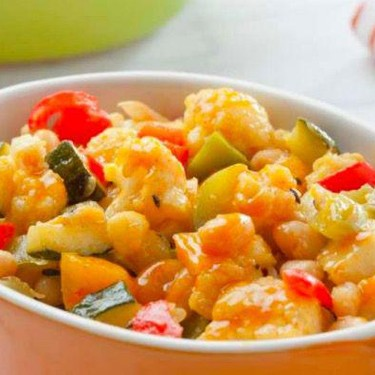 Spiced Mixed Vegetables Recipe | SideChef