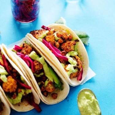 Roasted Cauliflower Street Tacos Recipe   SideChef