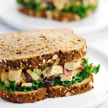 Greek Yogurt Curried Chicken Salad Sandwich Recipe   SideChef