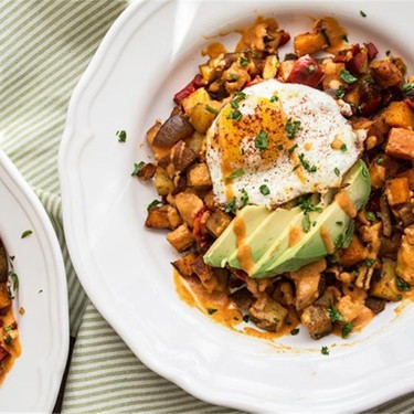 Roasted Veggie Breakfast Bowl Recipe   SideChef