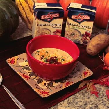 Swanson Loaded Potato Soup Recipe   SideChef