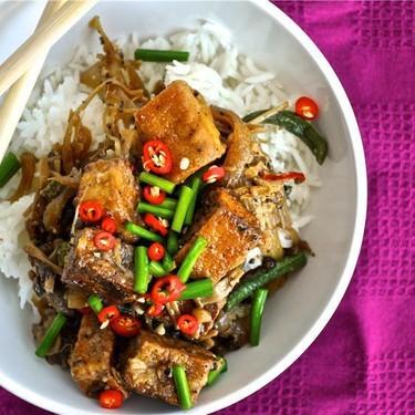 Black Pepper Tofu Recipe | SideChef