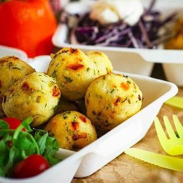 Mini Polenta Appetizers Balls Recipe | SideChef