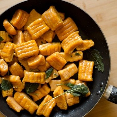 Sweet Potato Pumpkin Gnocchi Recipe | SideChef