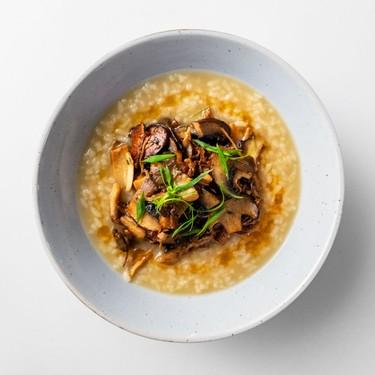 Rice Porridge with Mushrooms Recipe | SideChef