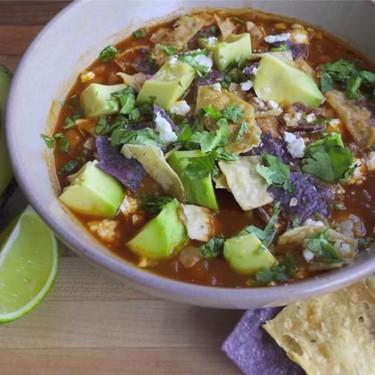 Chicken Tortilla Soup Recipe   SideChef
