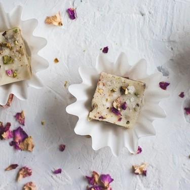Pistachio Rose White Chocolate Fudge Recipe | SideChef