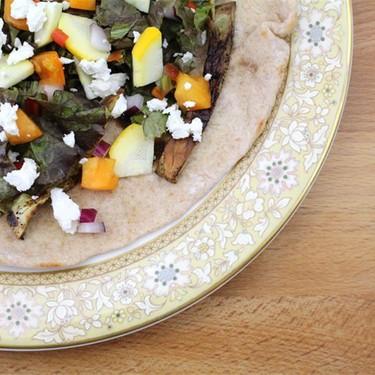 Eggplant and Summer Squash Tacos Recipe   SideChef