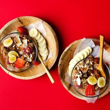 Overnight Quinoa Breakfast Porridge Recipe | SideChef