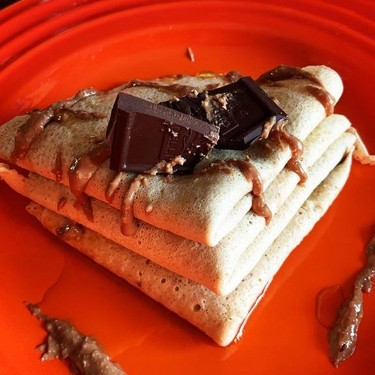 Healthy Chocolate Hazelnut Crepes Recipe   SideChef