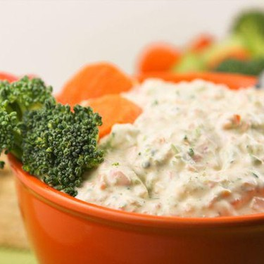 Creamy Vegetable Dip Recipe | SideChef