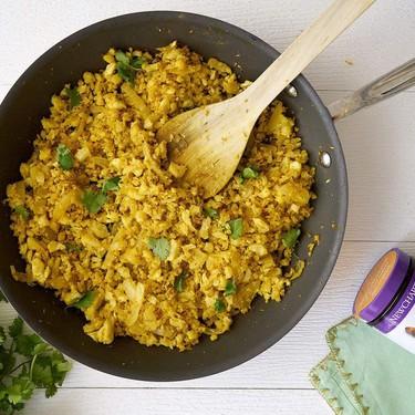 Turmeric Cauliflower Fried Rice Recipe   SideChef