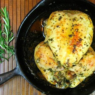 Simple Herb Roasted Chicken Recipe | SideChef