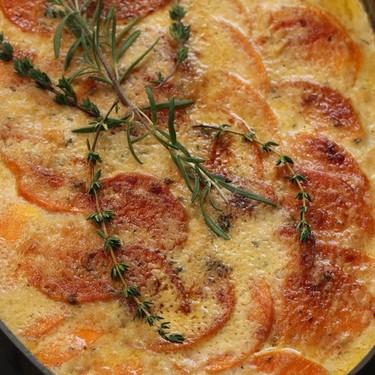 Sweet Potato Gratin Recipe   SideChef