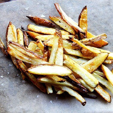 Crispy Oven-Baked French Fries Recipe | SideChef