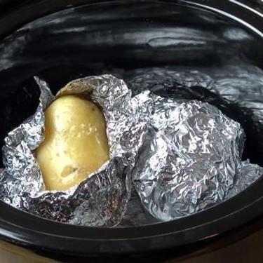 Slow Cooker Baked Potatoes Recipe   SideChef