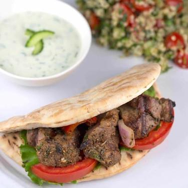 Lamb Kabobs with Tzatziki Sauce Recipe   SideChef