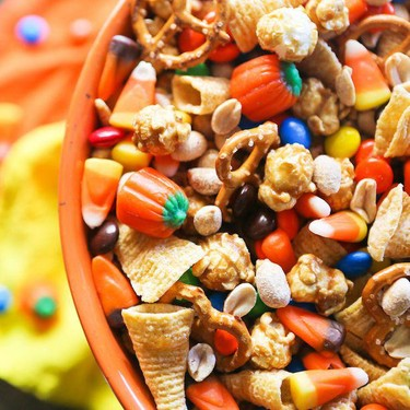 Halloween Snack Mix Recipe | SideChef