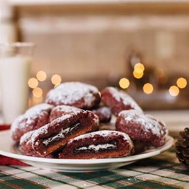 Vegan Oreo-Stuffed Red Velvet Cookies Recipe   SideChef