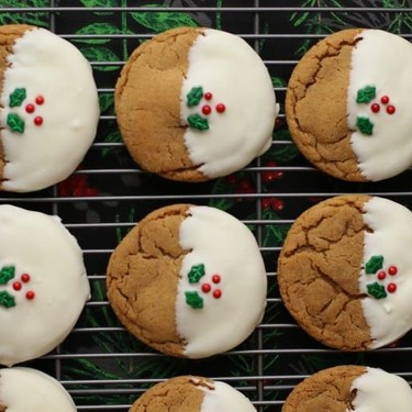 Big Soft Ginger Christmas Cookies Recipe   SideChef