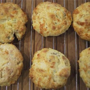 Cheddar Bacon Biscuits Recipe | SideChef