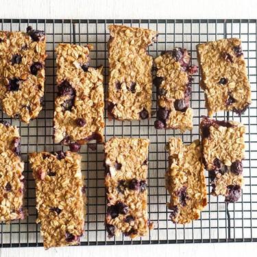 Blueberry Almond Breakfast Bars Recipe | SideChef