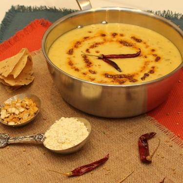 Indian Yogurt Curry (Rahasthani Kadhi) Recipe   SideChef