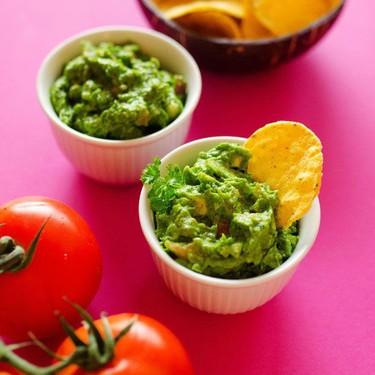 Hidden Spinach Healthy Guacamole Recipe | SideChef