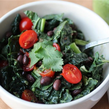 Mexican Goddess Kale Salad Recipe   SideChef