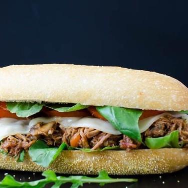 Italian Braised Pork Hoagie Recipe | SideChef