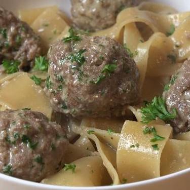 Easy One Pot Swedish Meatballs with Pasta Recipe   SideChef