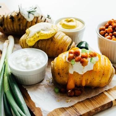 Slow Cooker Loaded Hasselback Potatoes Recipe | SideChef
