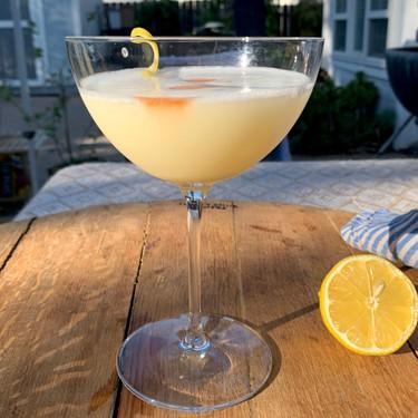Pisco Sour with Meyer Lemon Curd Recipe   SideChef