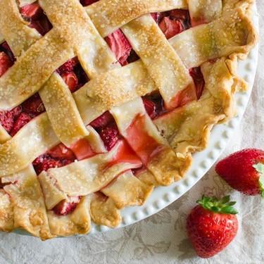 Strawberry Rhubarb Pie Recipe   SideChef