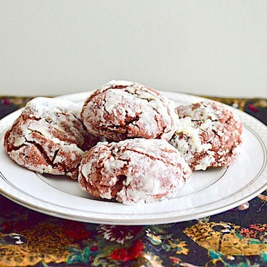 Red Velvet Crinkle Cookies Recipe | SideChef