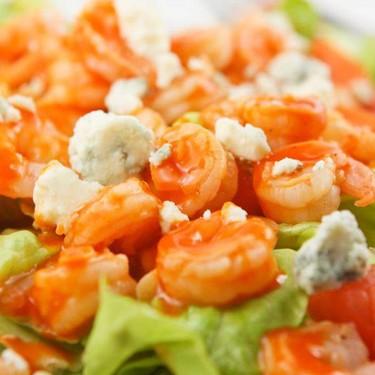 Buffalo Shrimp Salad Recipe | SideChef