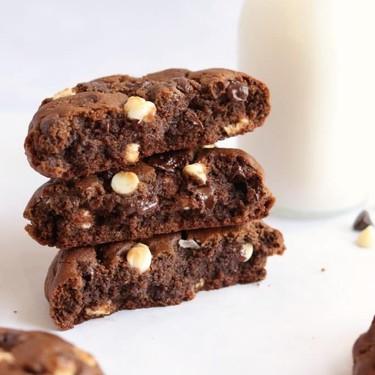 Thick Triple Chocolate Cookies Recipe | SideChef